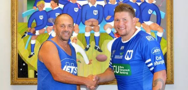 Greg Eastwood signs with Newtown Jets