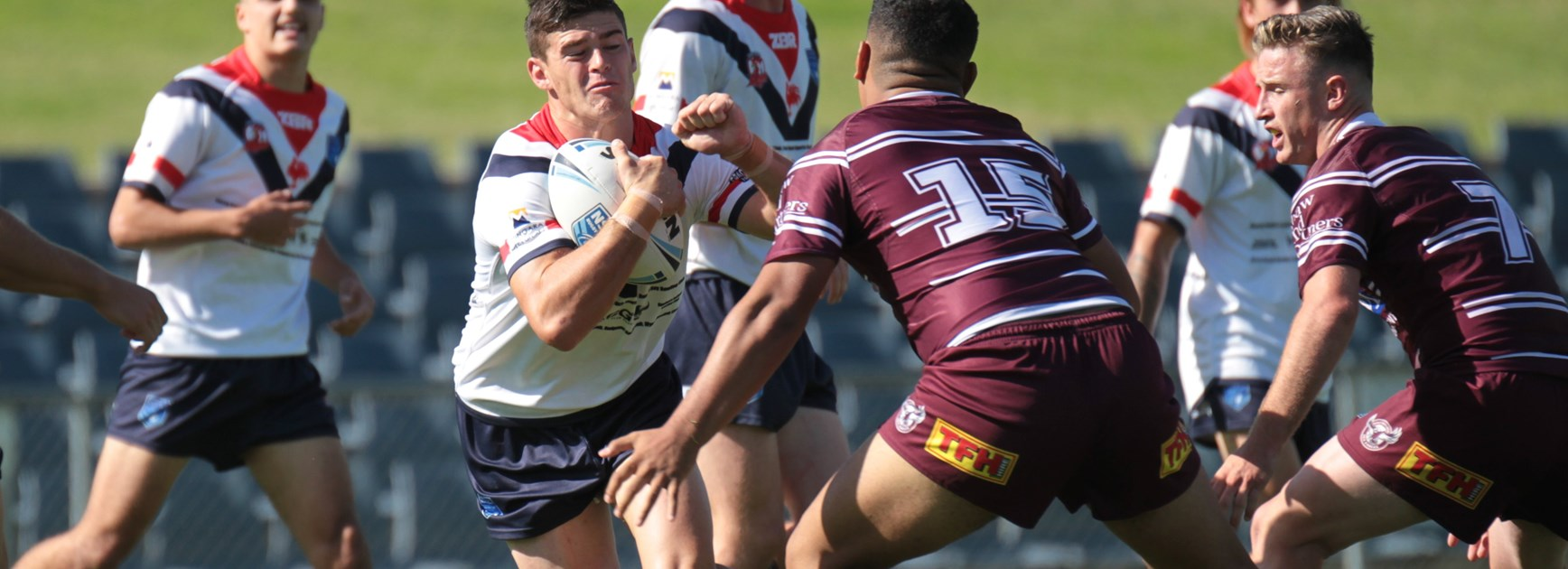 2019 SG Ball Finals Week 3 - Manly Warringah Sea Eagles v Central Coast Roosters. Photo: Steve Montgomery