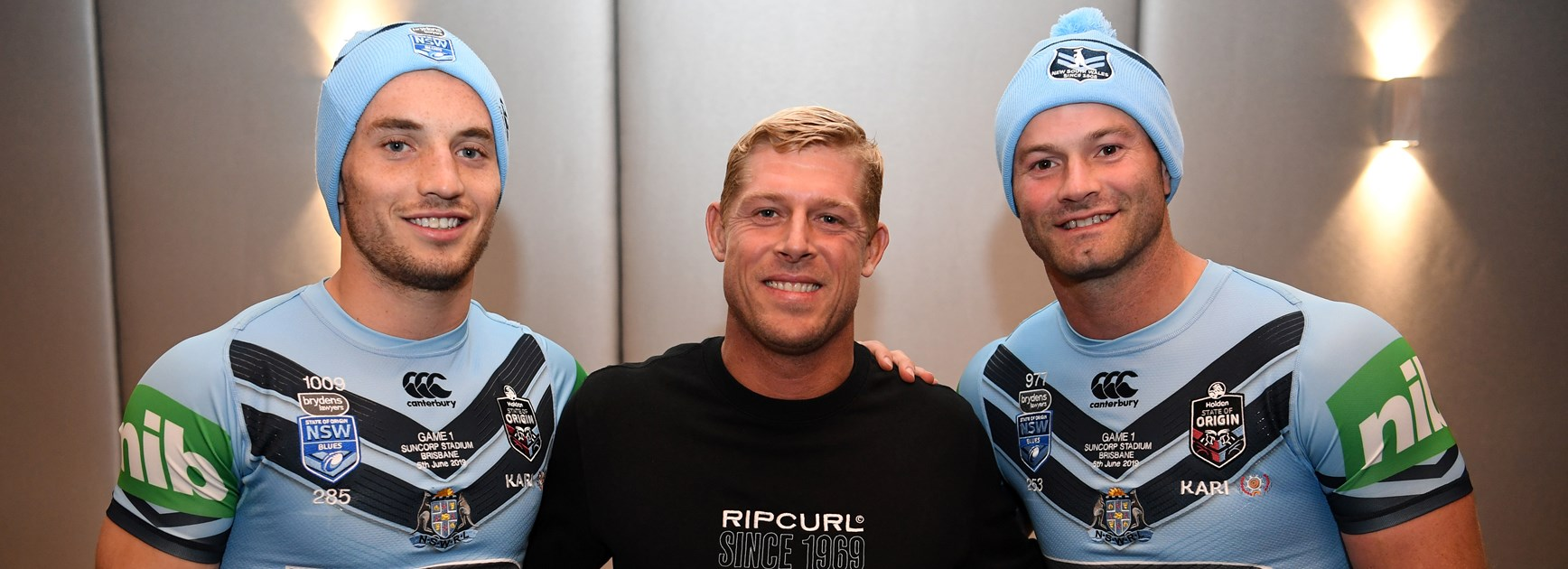 The speech Mick Fanning delivered to inspire the Blues