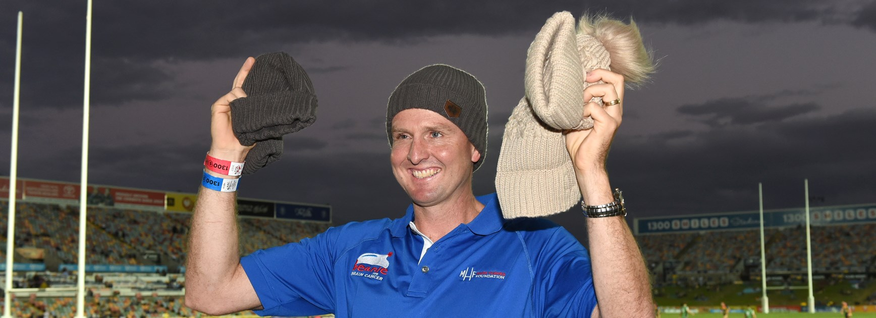Canterbury Cup NSW players back Beanie For Brain Cancer