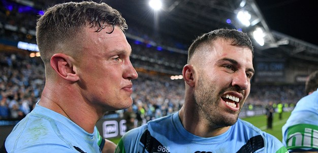 The six Blues in line for Clive Churchill Medal