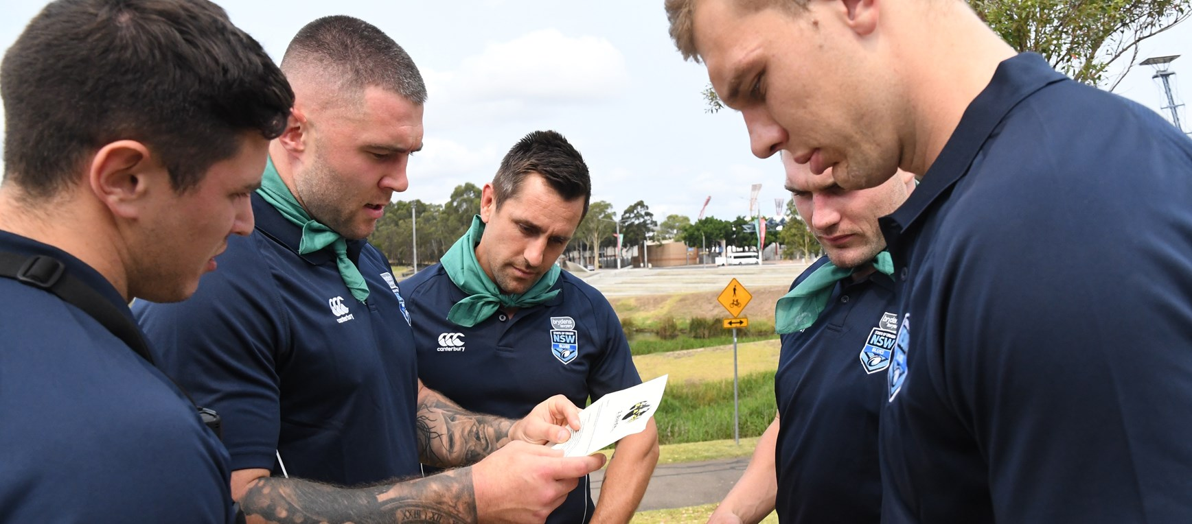 GALLERY | Blues do the Amazing Race