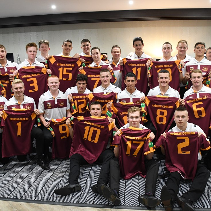 NSWRL Country Under-16's Jersey Presentation