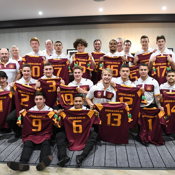 NSWRL Country Under-18's Jersey Presentation