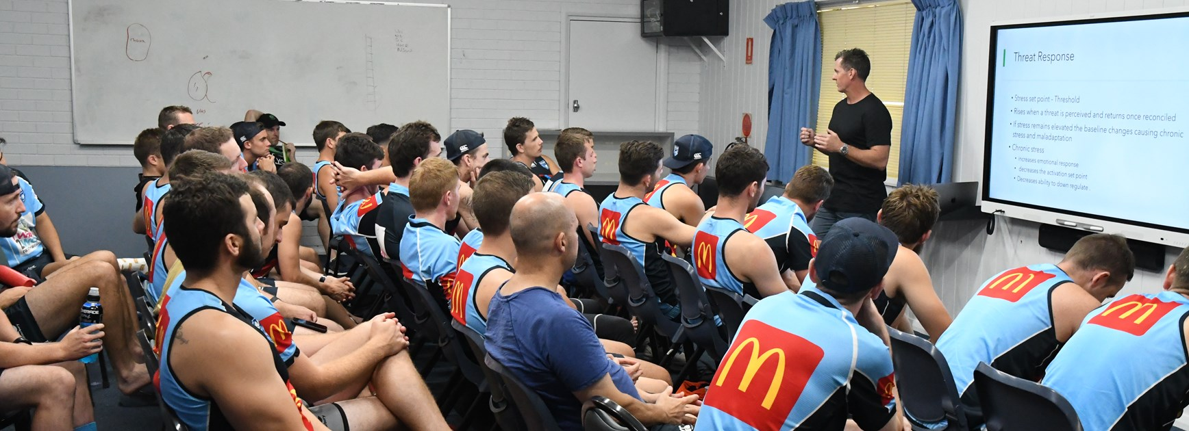 NSWRL Referees benefit from communication in camp
