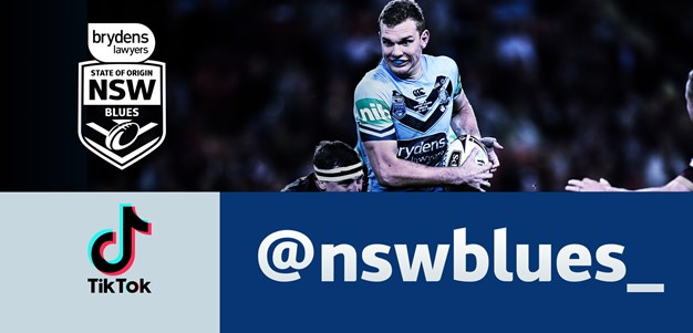 NSW Blues TikTok