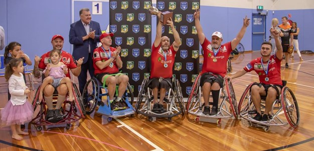 Resilience shines through for the NSW Wheelchair Grand Final