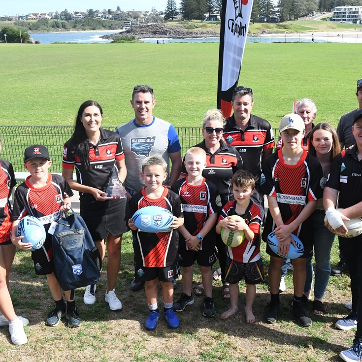 GALLERY | Volunteer of the Year presentation in Kiama