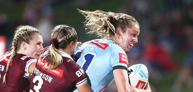 Fast-finishing NSW fall short