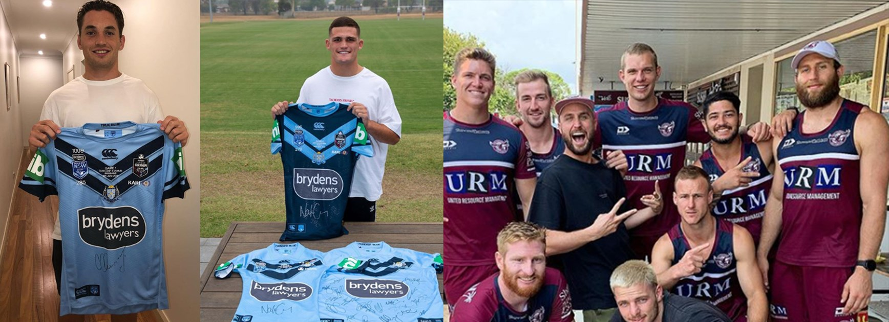 Between The Posts: Blues amazing bushfire efforts, Manly meet famous DJ