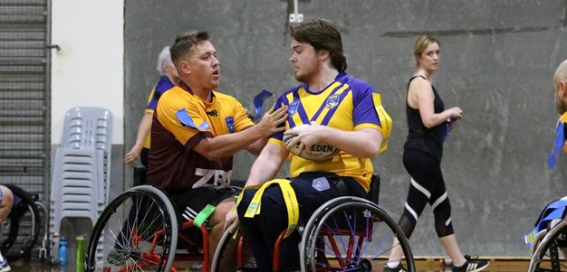 Country v City Wheelchair Rugby League comes to Queanbeyan