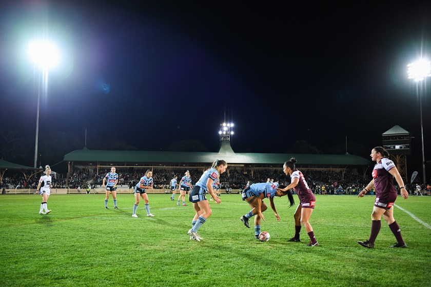 The women's State of Origin has been a huge success at North Sydney Oval.