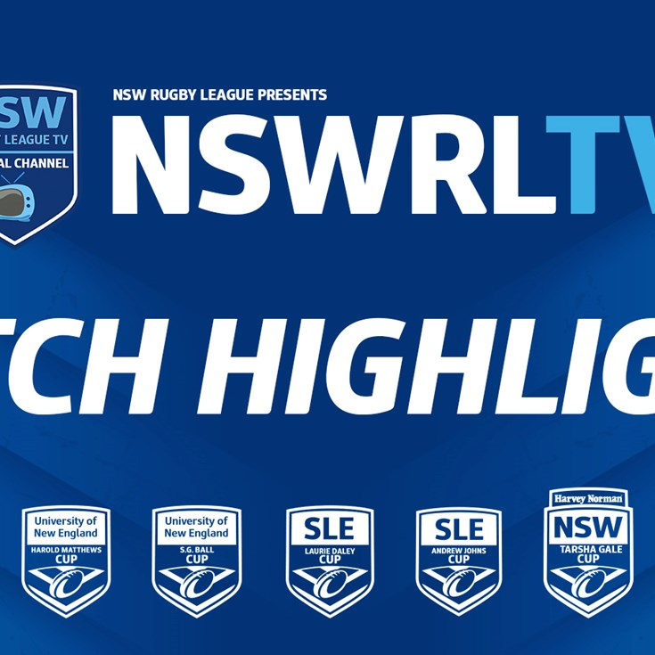 NSWRL TV Highlights | Junior Reps R5