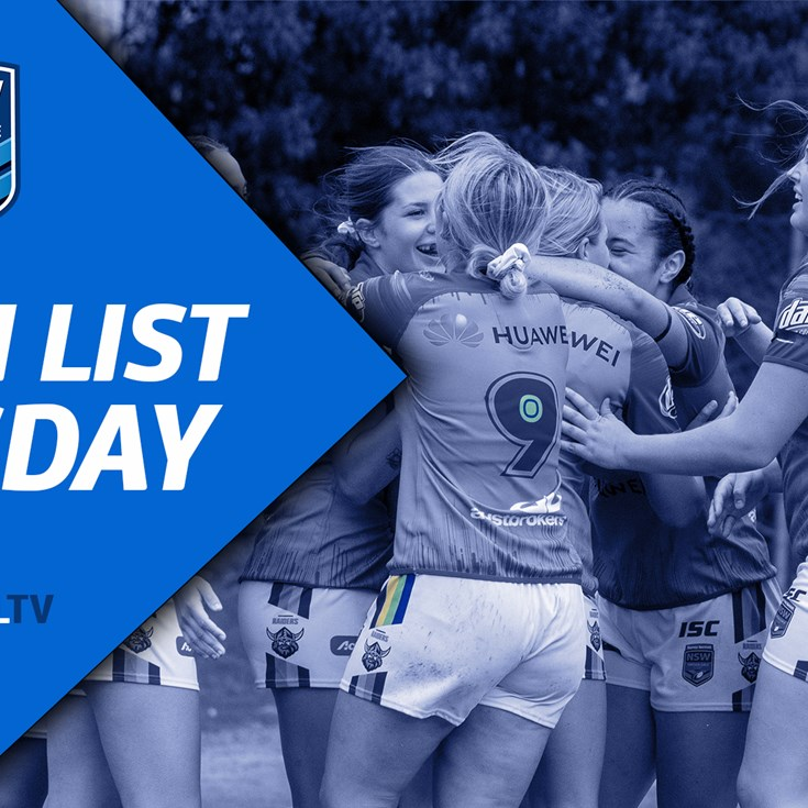 Team List Tuesday | Major Comps Rd 6, Junior Reps Elimination Final