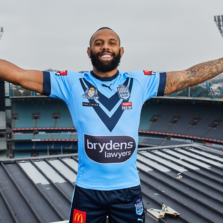 NSW Blues salute history with new PUMA jersey
