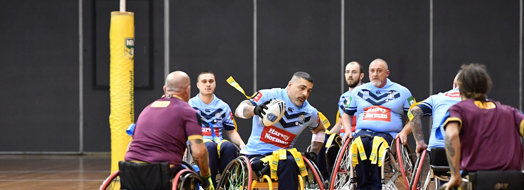 NSW Wheelchair Too Good for Queensland