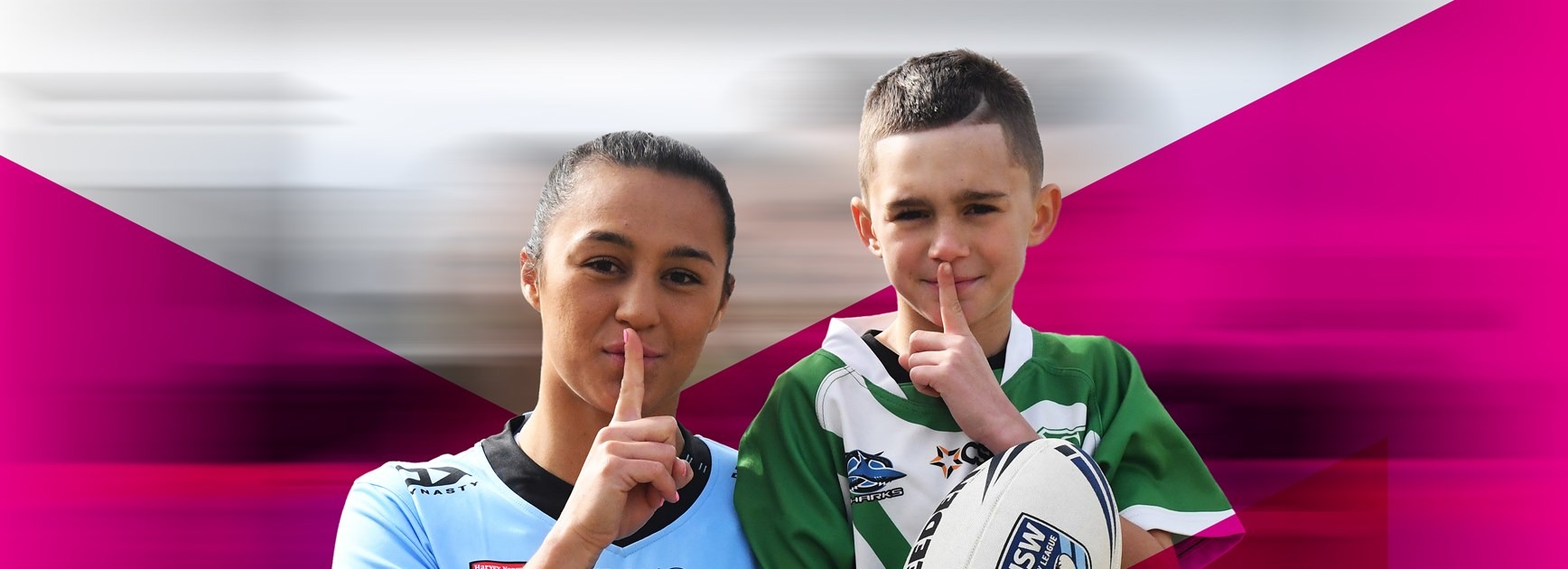 "NSWRL supports ""Shoosh for Kids"""