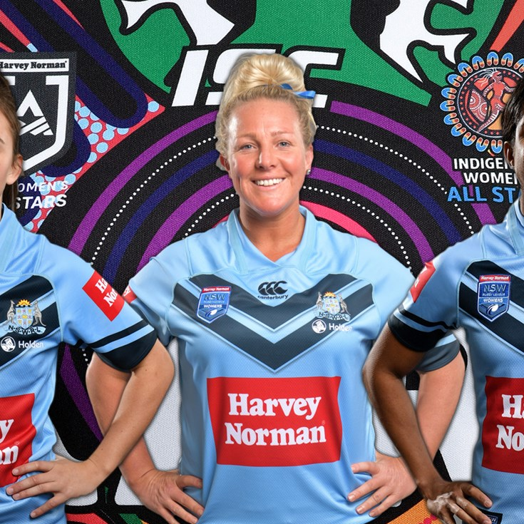 NSW trio named in Women's Indigenous All Stars
