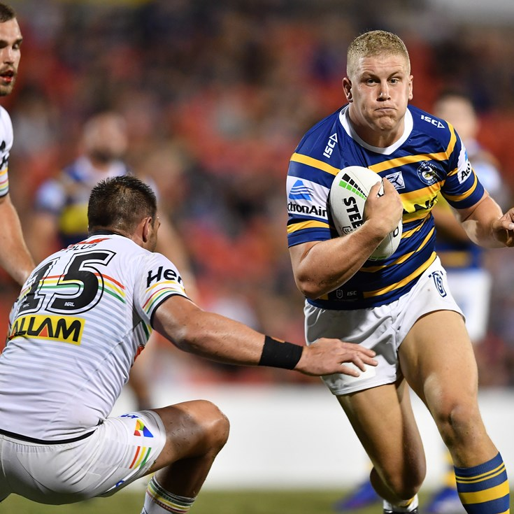 Alvaro: I want to stay at the Eels