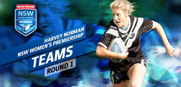 TEAMS | Harvey Norman Women's Rd 1