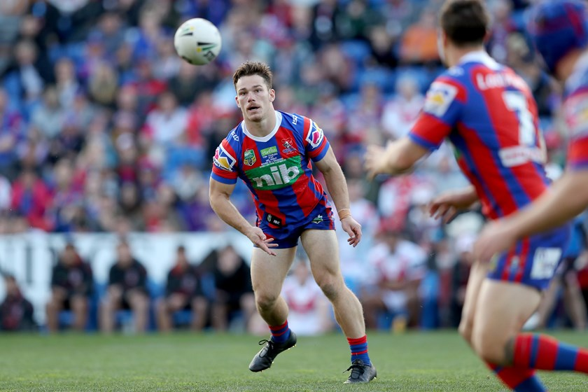 Small in stature but big in heart – Tom Starling is a star of the future for the Newcastle Knights.