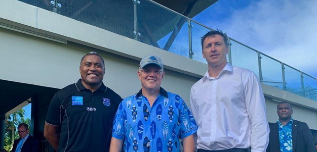 Prime Minister's Boost for Fiji NSWRL Bid