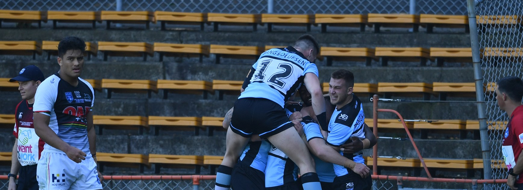 Sharks Outclass Panthers to win Jersey Flegg Cup