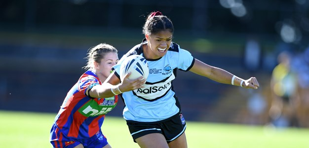 Sharks Hold off Knights to win Harvey Norman Tarsha Gale Cup