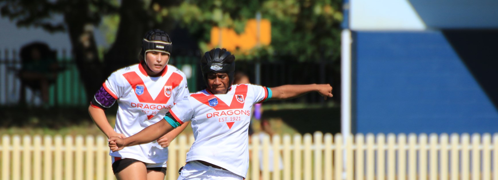 2019 Tarsha Gale Cup Round 1 - St George v Wests Tigers. Photo: Allan Barry