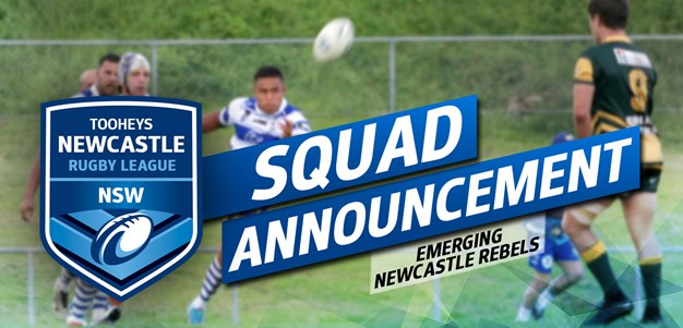 SQUAD | Emerging Newcastle Rebels