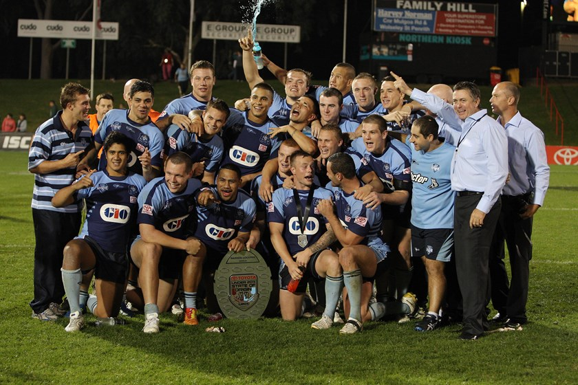 The NSW Under-20s defeat Queensland at Centrebet Stadium, Penrith on 21 April, 2012.