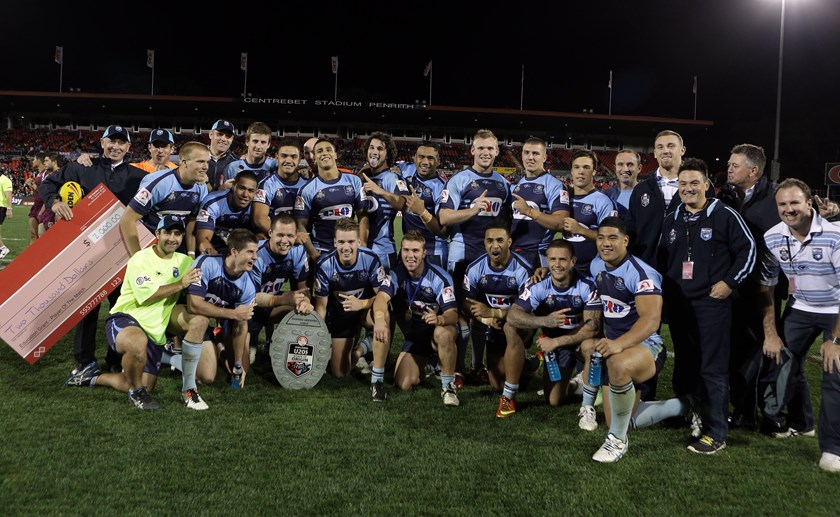 The NSW Under-20s defeat Queensland at Centrebet Stadium, Penrith on 20 April, 2013.