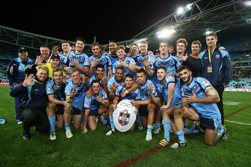 The NSW Under-20s defeat Queensland at ANZ Stadium on 13 July, 2016.