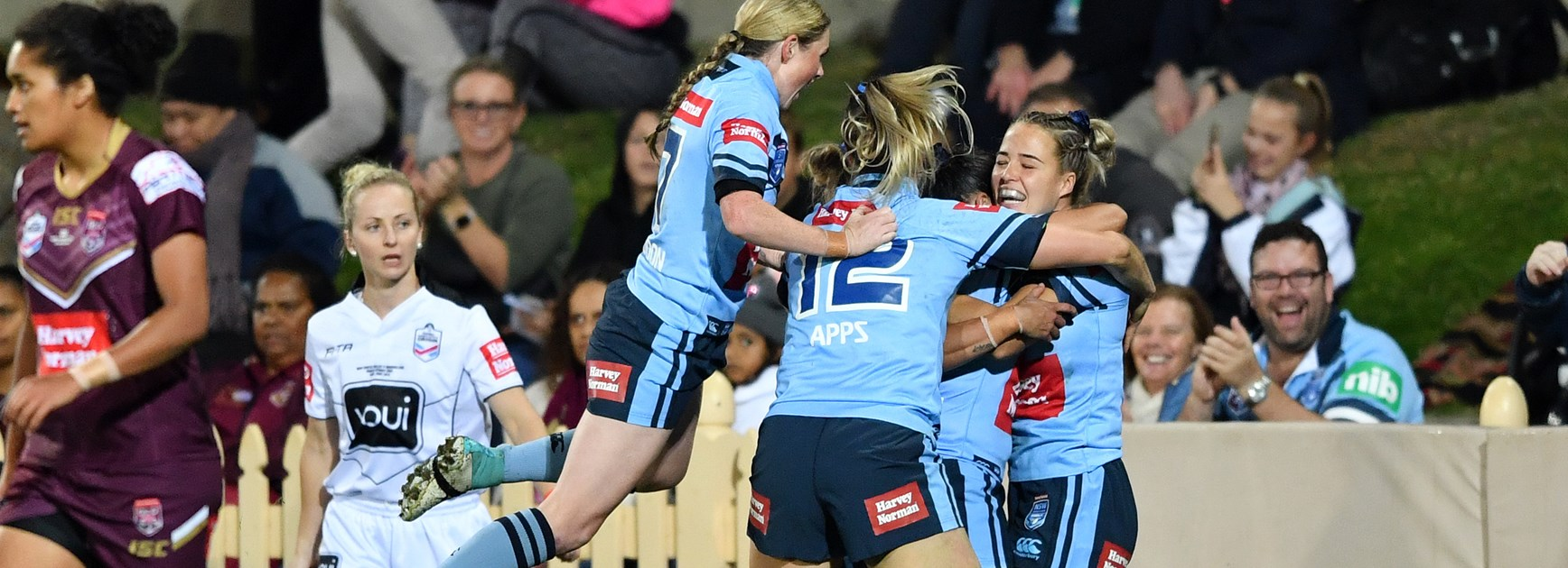 NSW Claim Inaugural Women's Origin