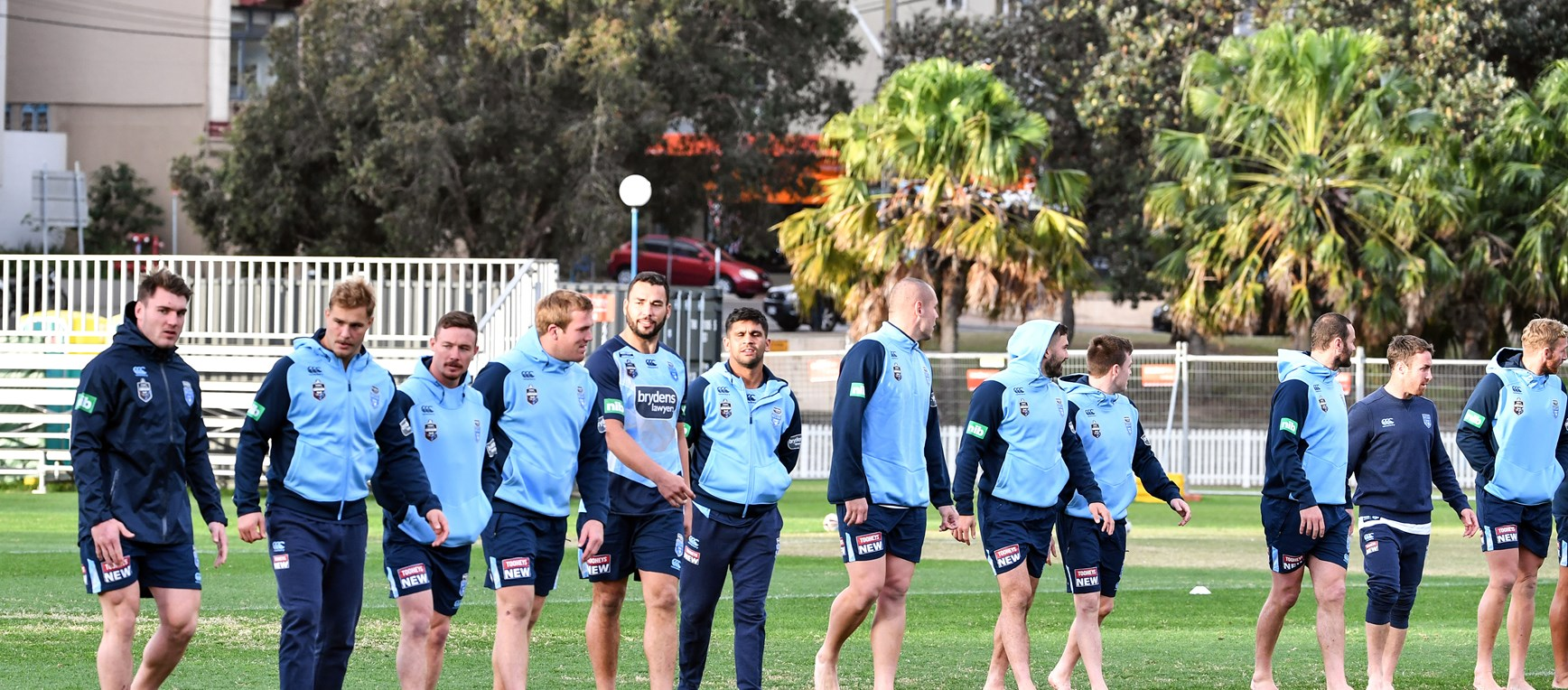 GALLERY | Shoes Off For First Training Session