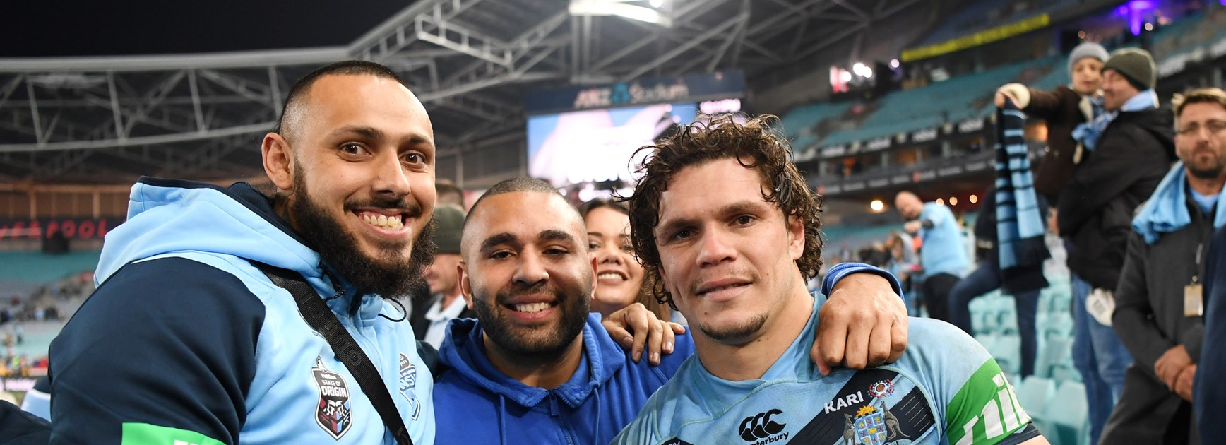 Roberts Dedicates Origin Win To His Brother