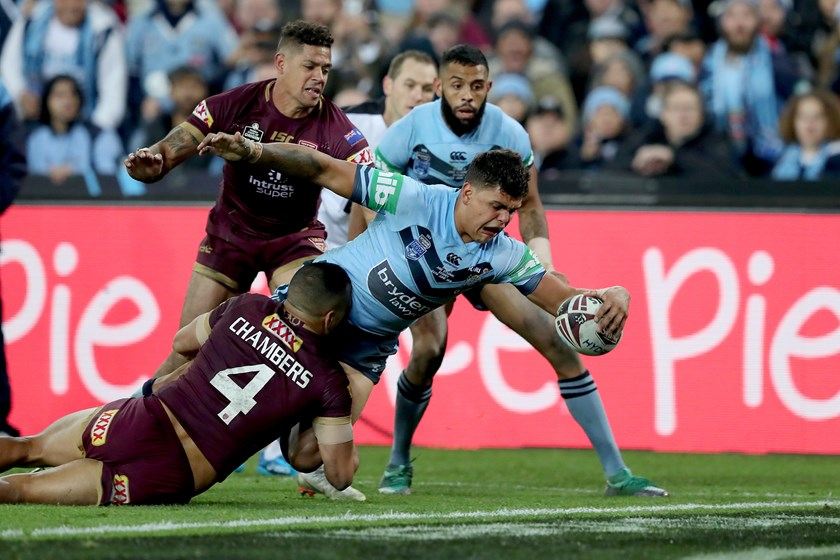 NSW Blues star Latrell Mitchell.