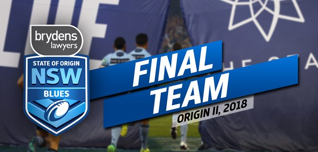 FINAL TEAM | Brydens Lawyers NSW Blues
