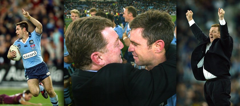 Legendary playing and coaching duo Brad Fittler and Phil Gould stepped down from their respective roles at the end of the 2004 series, both going out as deserved winners.