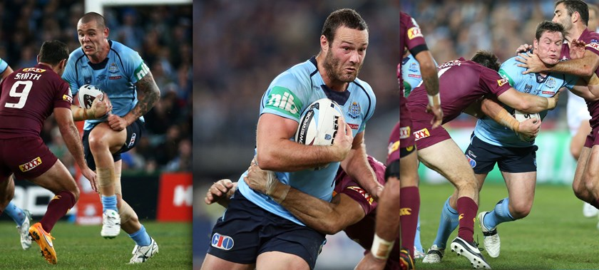 David Klemmer (left) and Josh Jackson (right) both debuted for NSW in 2015, while eventual captain Boyd Cordner (middle) returned.