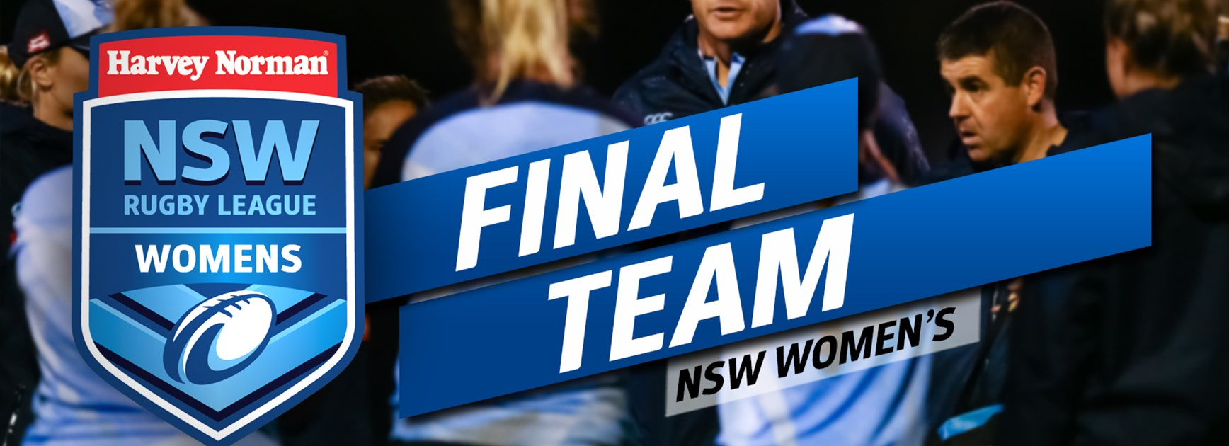 FINAL TEAM | Harvey Norman NSW Women's
